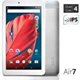 NeuTab 7 inch Quad Core Google Android 5.0 Lollipop Tablet PC 1GB RAM 8GB Nand Flash wide View IPS 1024x600 HD Display Bluetooth 4.0, Slim Metal Design, 1 Year US Warranty FCC Certified