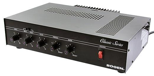 Amazon.com : Bogen 35 Watt Commercial Paging System with Amplifier ...