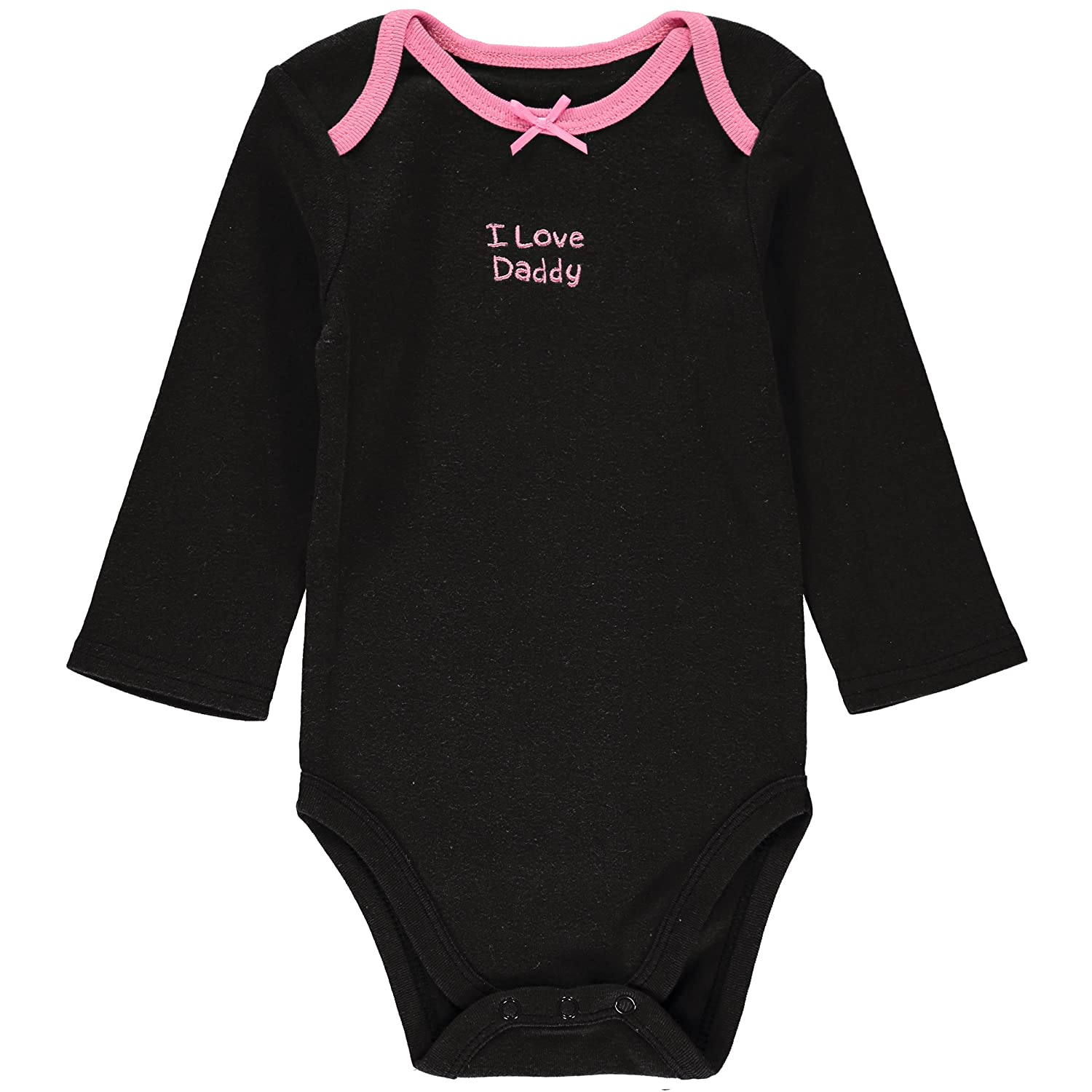 Wan-A-Beez 4 Pack Baby Girls and Boys Long Sleeve Bodysuits