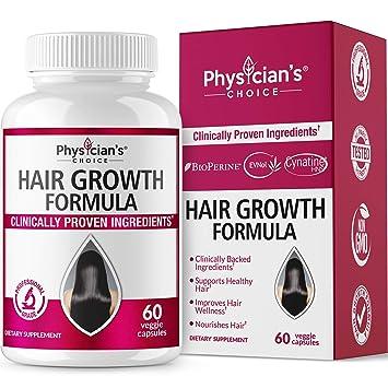 Hair Growth Vitamins >> Amazon Com Hair Growth Vitamins Clinically Proven