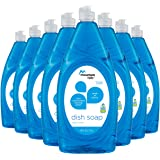 Mountain Falls Ultra Concentrated Dish Soap, Clean Scent, 40 Fluid Ounce (Pack of 8)