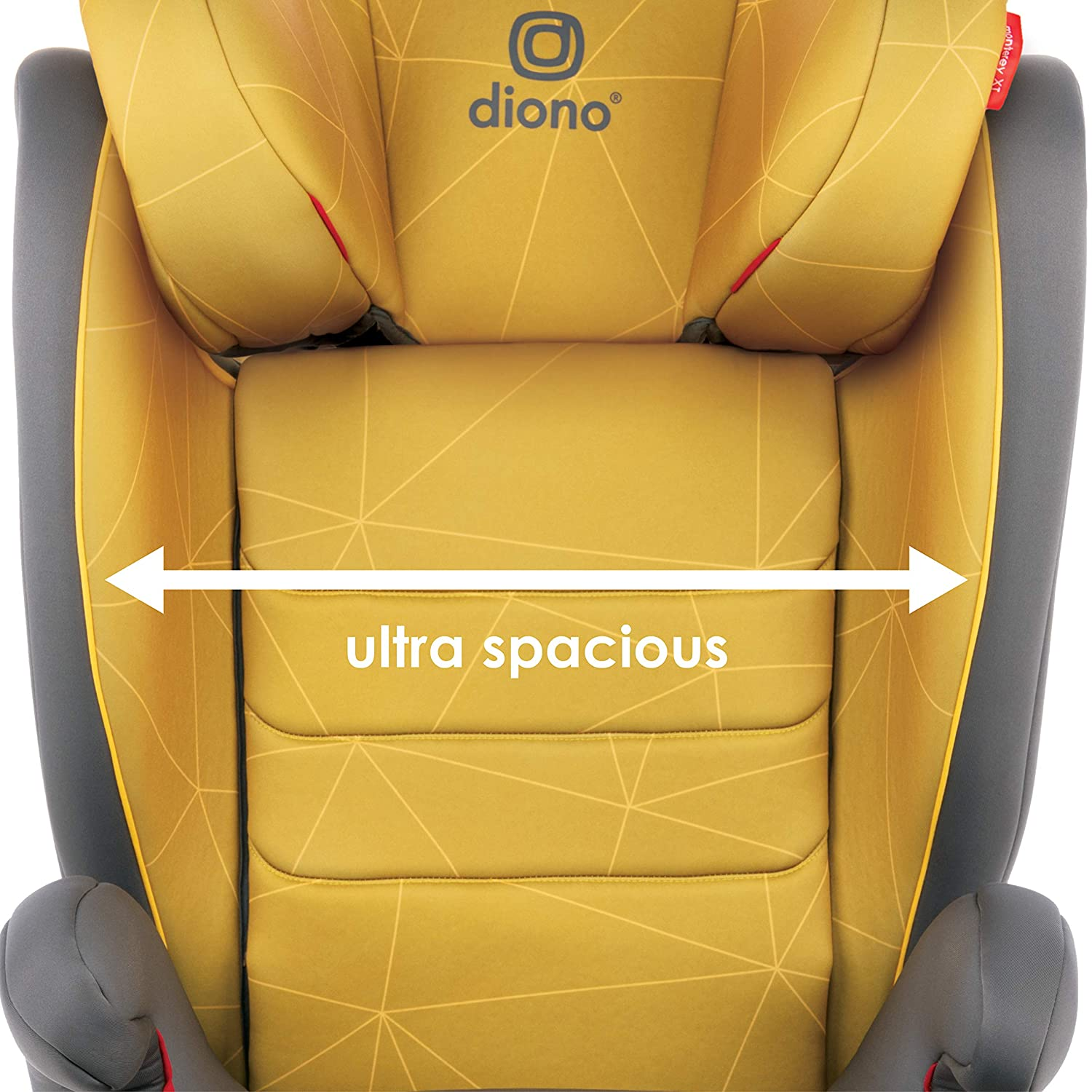 Diono Monterey XT Latch Blue 2-in-1 Expandable Booster Seat