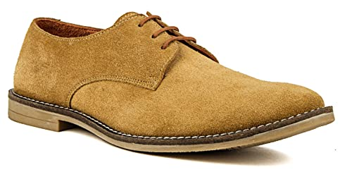 Buy DE SCALZO Beige Suede Leather Shoe