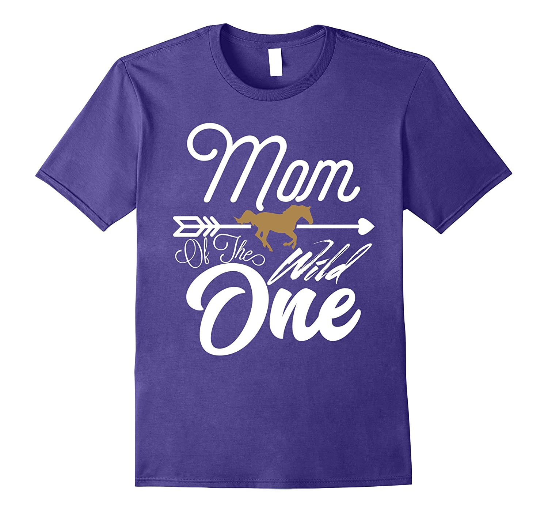 Funny Shirt Cute Mom Of The Wild One 1st Birthday Ah My Gift Ahmyshirt