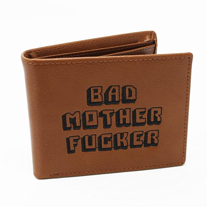 06e379aef Pulp Fiction Bad Mother Fucker Leather Wallet  Amazon.ca  Clothing    Accessories