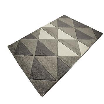Pati Tapis 160x230cm gris Gris - Alinea x160.0x230.0.: Amazon.fr ...