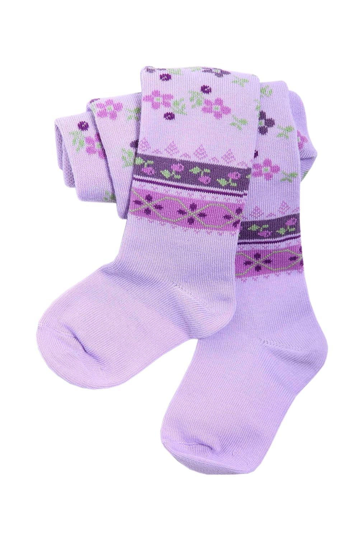 Weri Spezials Baby and Children Tights, Lilac, Ethno