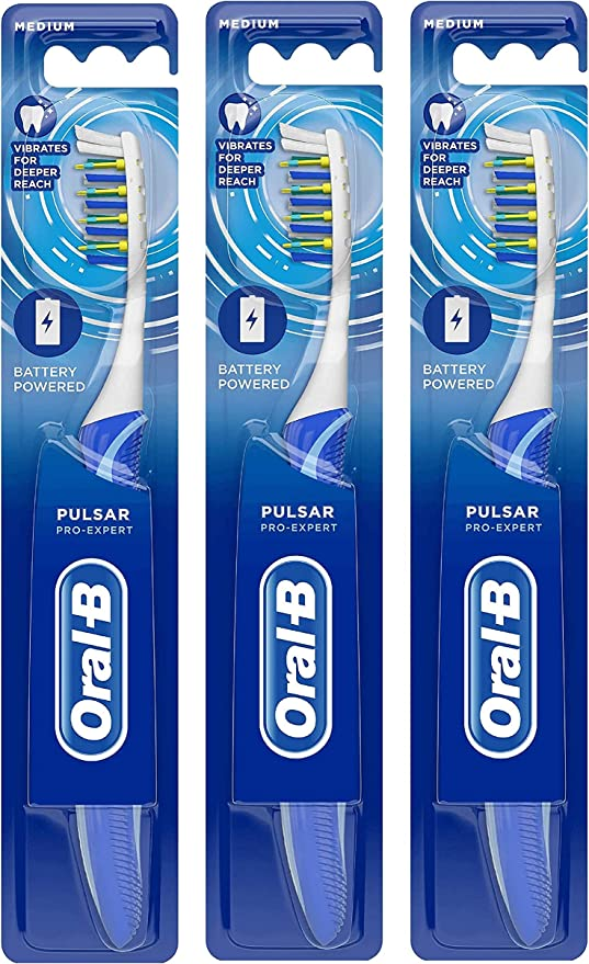 Oral - B - proexpert, cepillo de dientes, pack de 3: Amazon.es ...