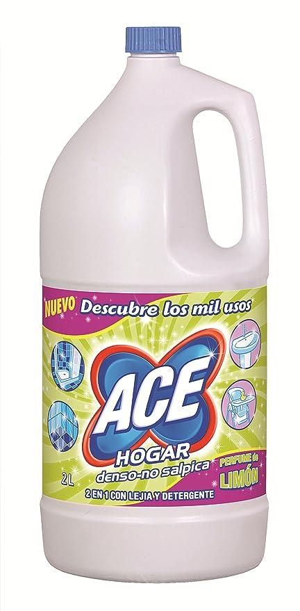 Ace Limón Limpiador para el Hogar 2 en 1 con Lejía y Detergente - 2 l