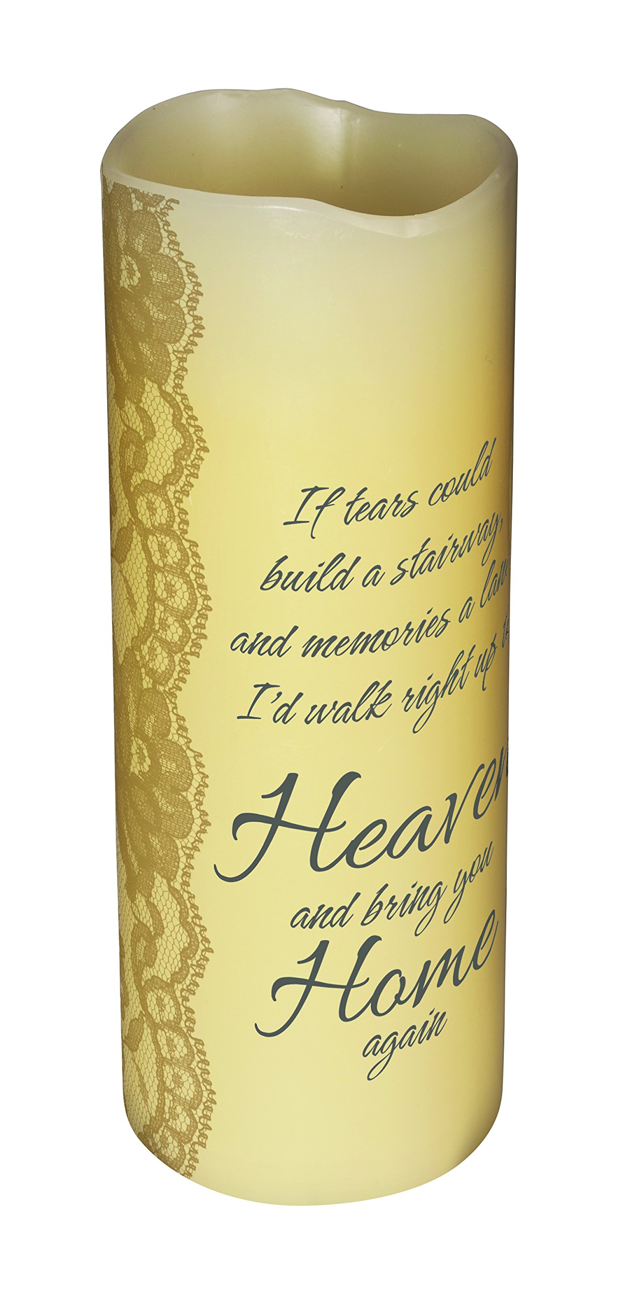 Carson Home Accents CHA10402 Heaven's Tears Scented Flameless Candle