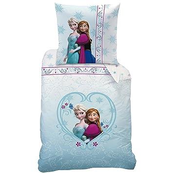 Disney Frozen 042654 Bettwäsche Nordic Baumwolle Linon 135 X 200