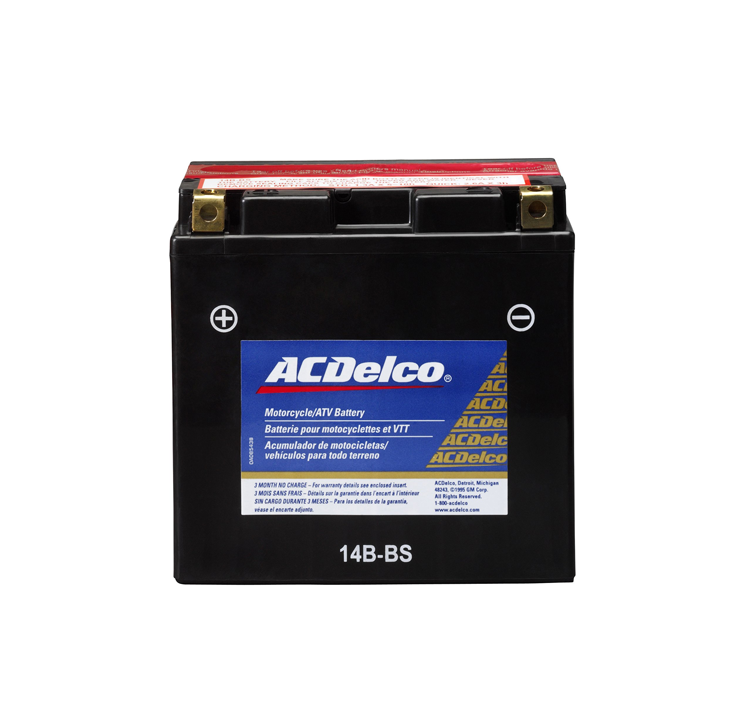 ACDelco ATX14BBS Specialty AGM Powersports JIS 14B-BS Battery