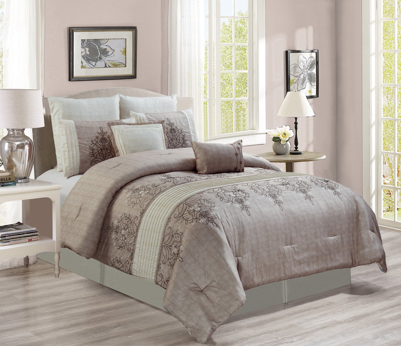 c home zi down comforter bedding ivory sets dillards comforters