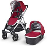 UPPAbaby 2015 Vista Stroller with Seat Liner (Denny Red)