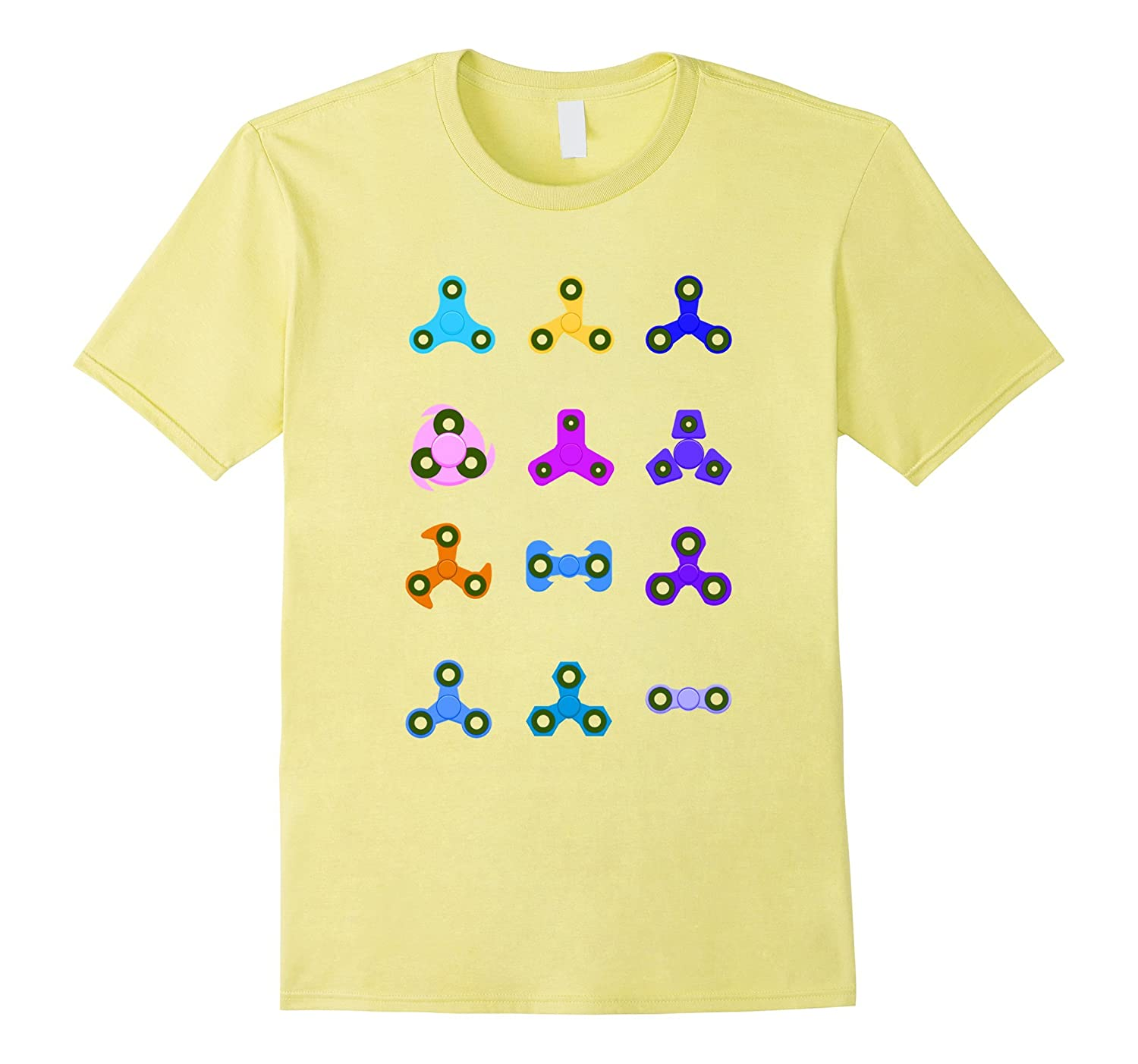 Fidget Hand Spinner Shirt For Adult and Youth Sizes-T-Shirt
