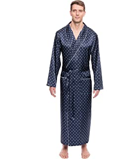 96d24ade89 Noble Mount Twin Boat Mens Satin Sleepwear Pajama Set at Amazon ...