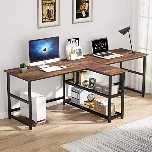 Tribesigns 90.5 inch Computer Desk Review