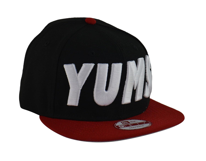 Yums – Vancouver Canucks Nueva Era 9 FIFTY Snapback Cap Negro/Rojo ...