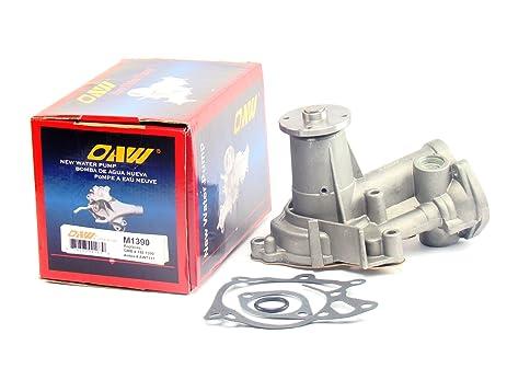 OAW M1390 Engine Water Pump for Mitsubishi Pickup & Dodge RAM 50 2.3L Turbo Diesel
