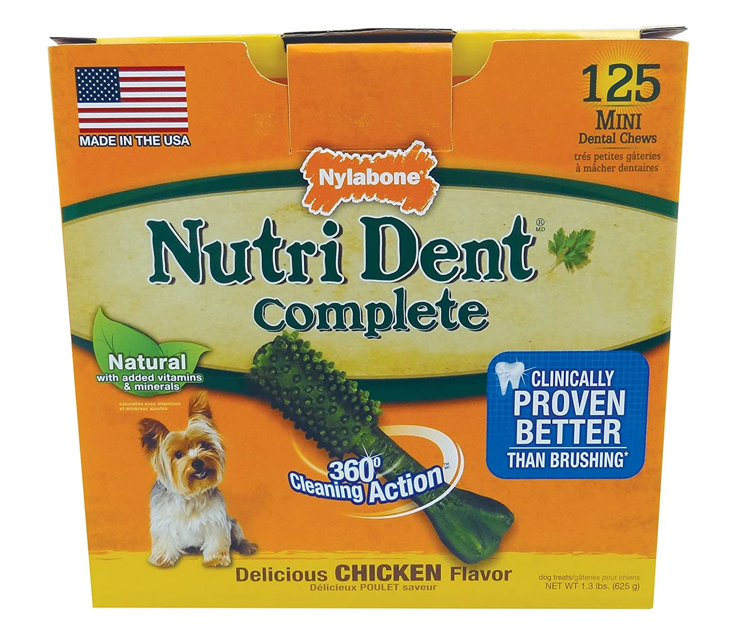 Nylabone Nutri Dent Dog Treat Dental Bones