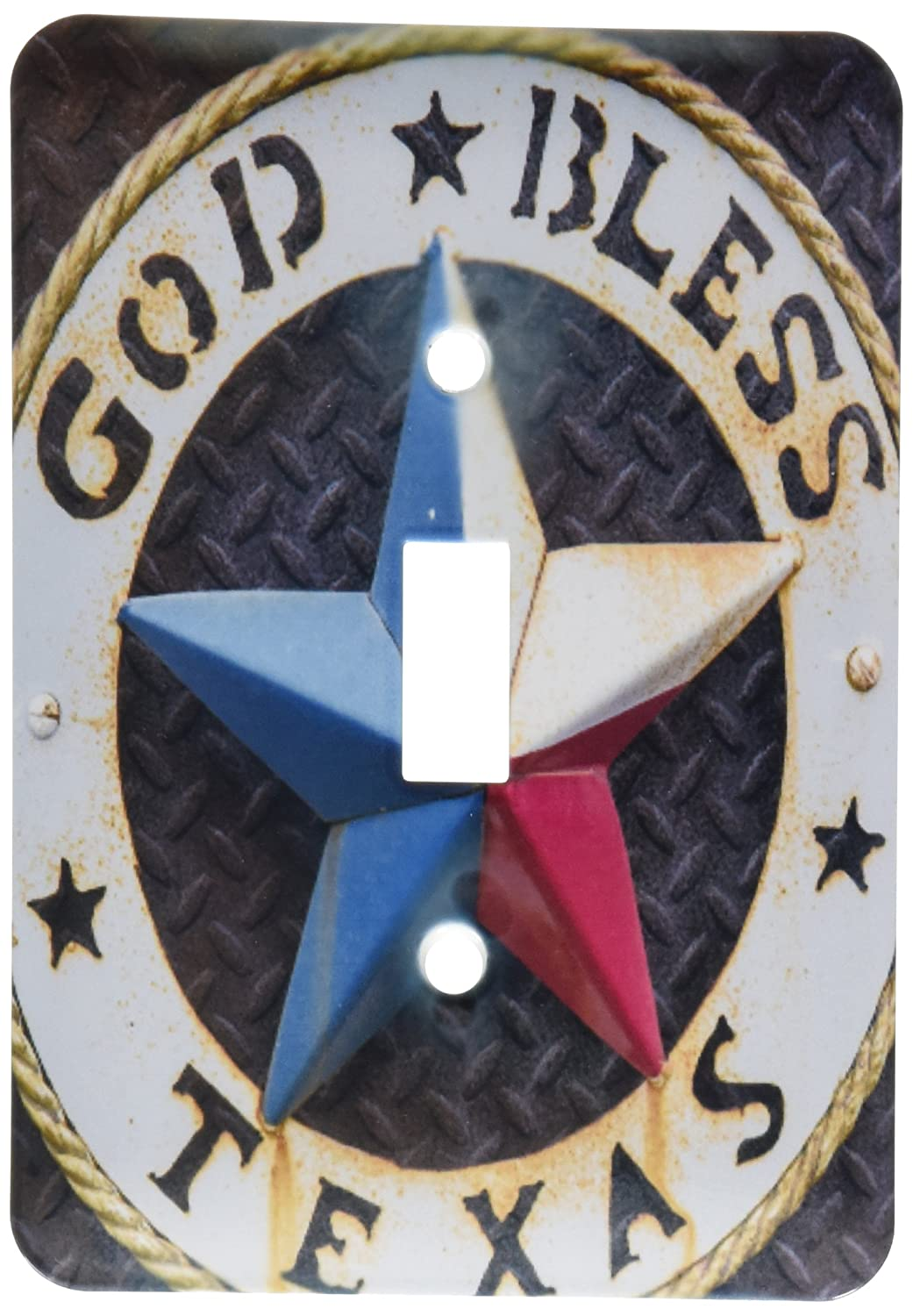 Usa Toggle Switch 3D Rose 3dRose lsp/_190191/_1 Lone Star Of Texas Emblem Austin Home Improvement Texas