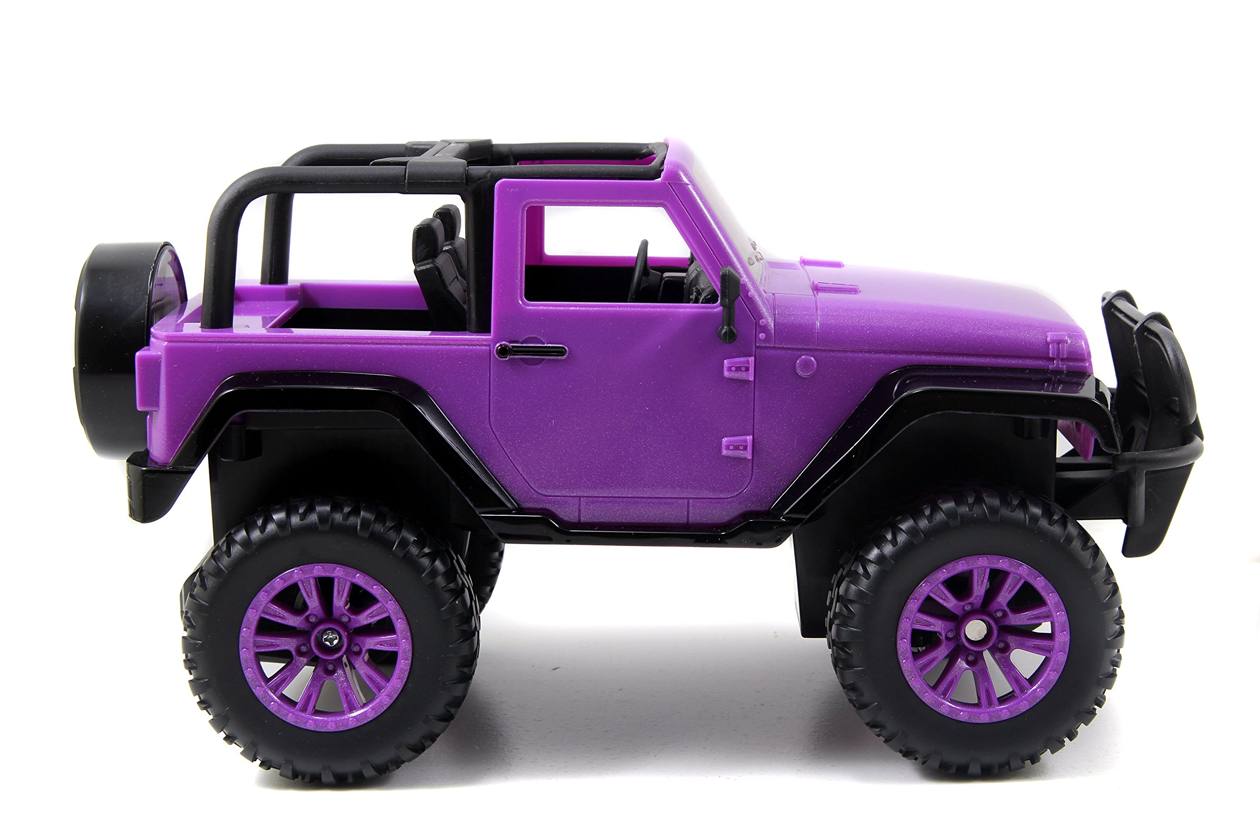 Jada Toys GIRLMAZING Big Foot Jeep R/C Vehicle (1:16 Scale), Purple by Jada Toys (Image #4)