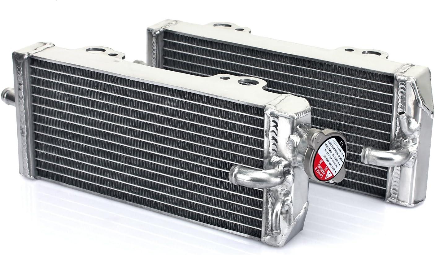 TARAZON Moto Enfriamiento del Radiador Enfriador aluminio para GAS GAS EC MC 200 250 300 1998-2006