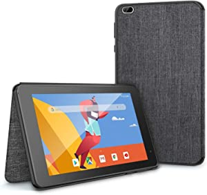 VANKYO Tablet Case for MatrixPad S8 Tablet 8 inch, VANKYO MatrixPad S8 Slim Stand Folio Cover, Premium PU Leather Fit with Multiple Viewing Angles Black