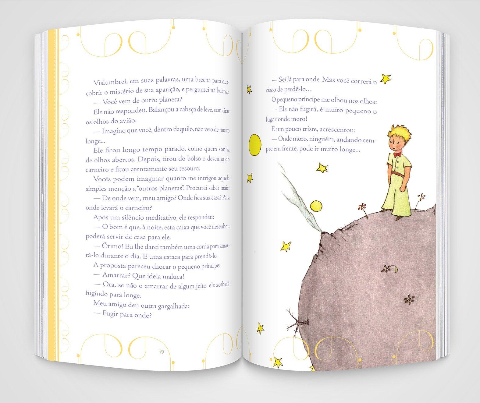 O Pequeno Príncipe - Edição de Luxo - 9788581303079 - Livros na ...