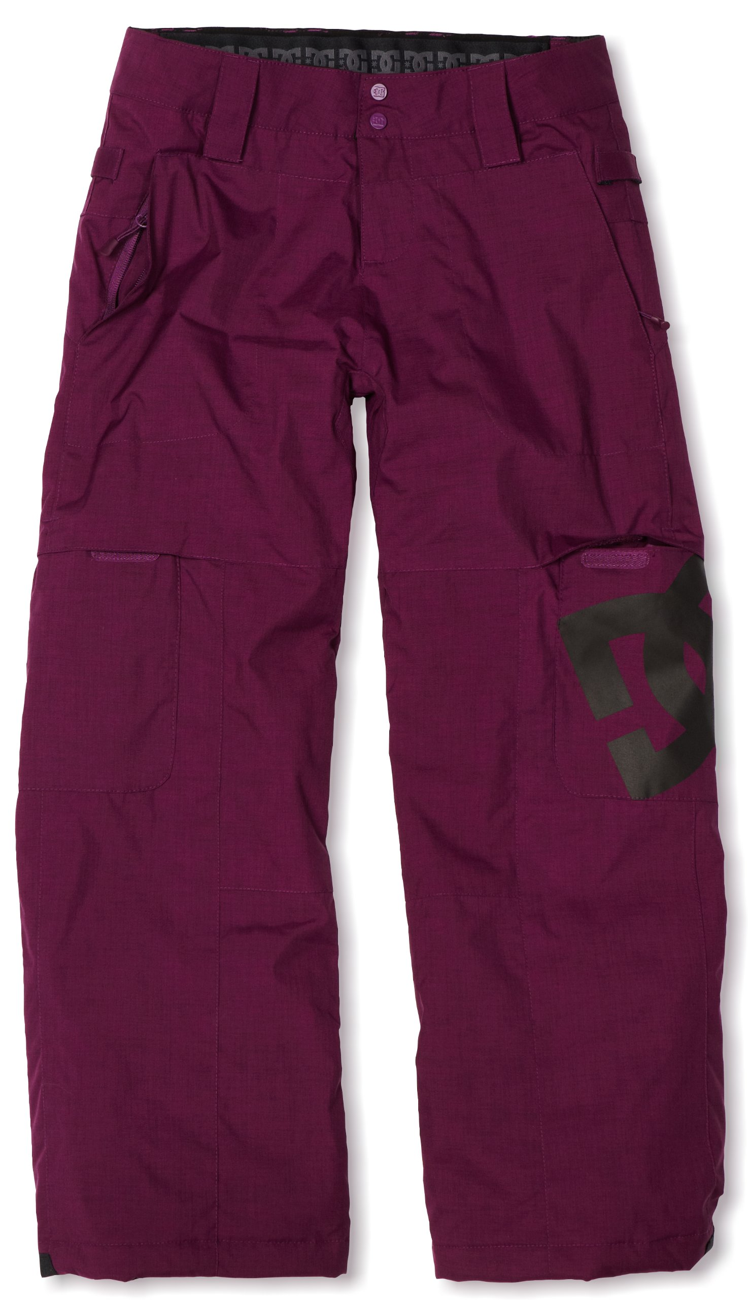 DC Unisex Child Banshee K12 Pant (Dark Purple, X-Large) by DC
