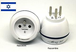 LTE Design - BB0172 - Adattatore di viaggio Francia verso Israele - Range Bolle