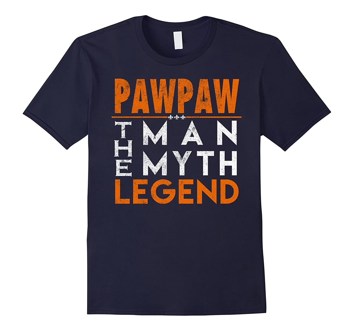 Mens Pawpaw The Man. The Myth. The Legend. Fathers Day Tshirt-Art