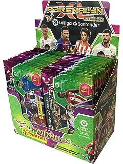 Liga Santander - Caja de 50 sobres Adrenalyn 2018-2019 (003714BOX50): Amazon.es: Juguetes y juegos