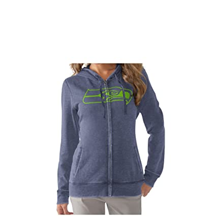 online store 1a6dd 8f814 Amazon.com : Seattle Seahawks Women's Powerplay Full Zip ...