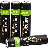 AmazonBasics 亚马逊倍思 AAA型(7号)镍氢预充电 可充电电池 (4节,800mAh)