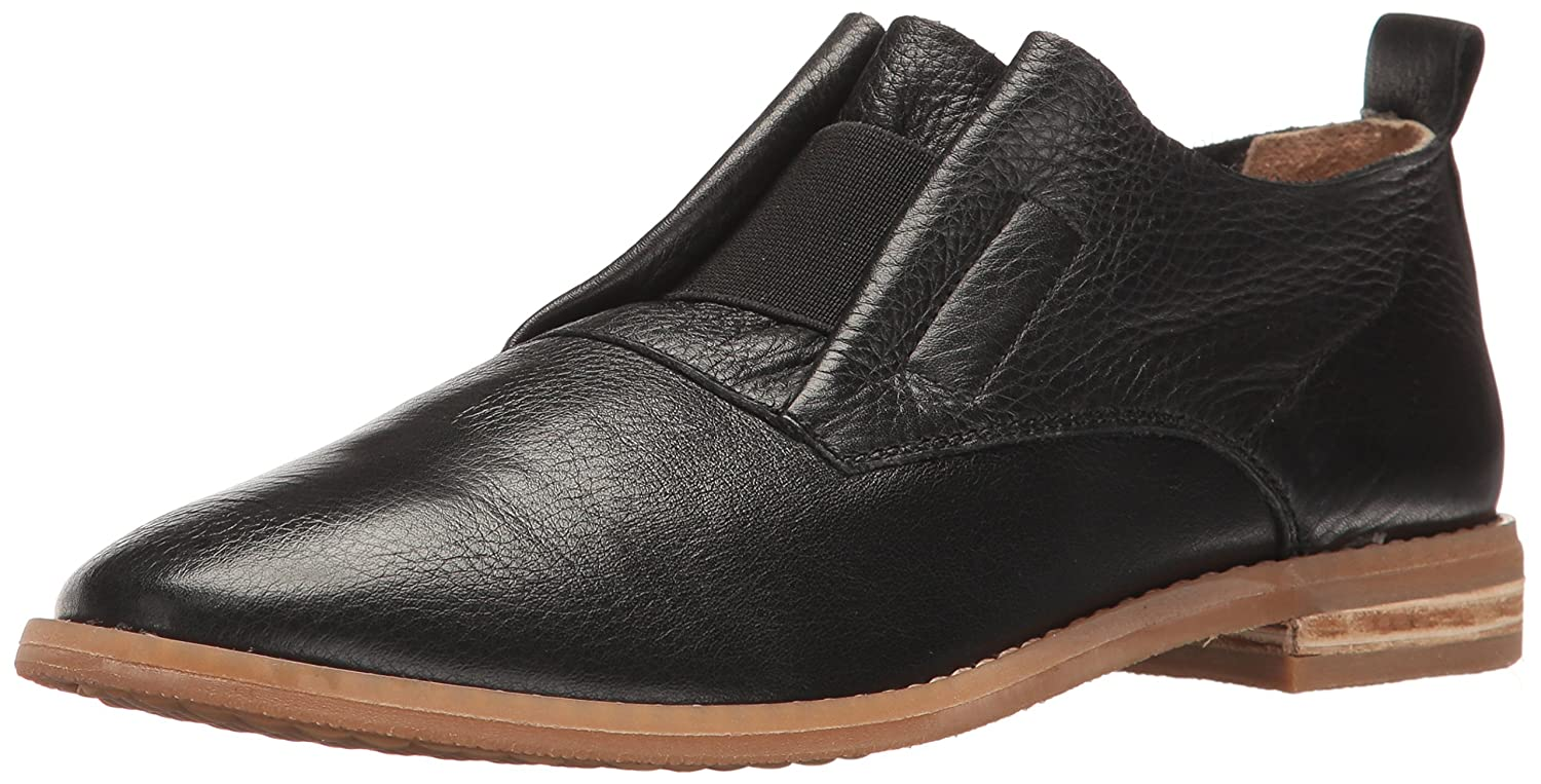 Hush Puppies Women's Annerley Clever Flat B01IRSC47S 9 W US|Black Leather