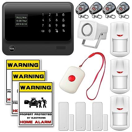 Golden Security - g90b sistema de alarma de seguridad, App ...