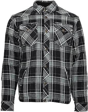 Bores Lumberjack - Camisa de manga larga (impermeable, a ...