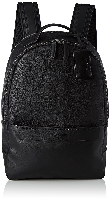 Calvin Klein Multi Task P Backpack, Sacs à dos homme, (Black), 16x43x32 cm (B x H T)