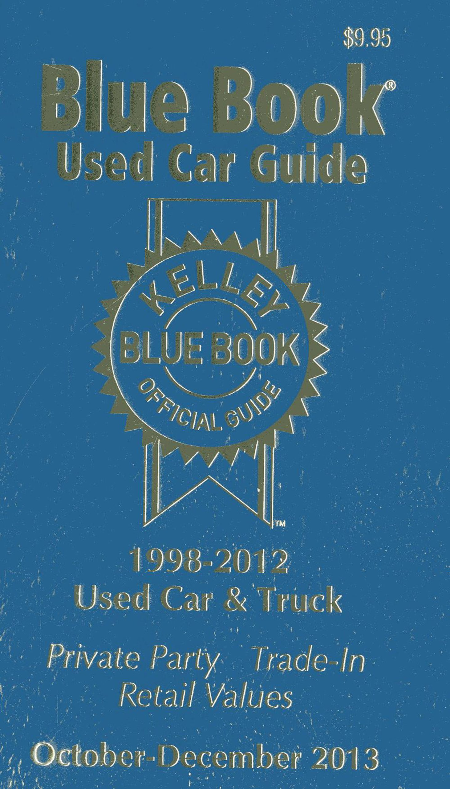 Kelley Blue Book Used Car Guide: Kelley Blue Book: 9781936078295 ...