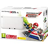 Nintendo Handheld Console 3DS XL -  White Limited Edition with Mario Kart 7 (Nintendo 3DS)
