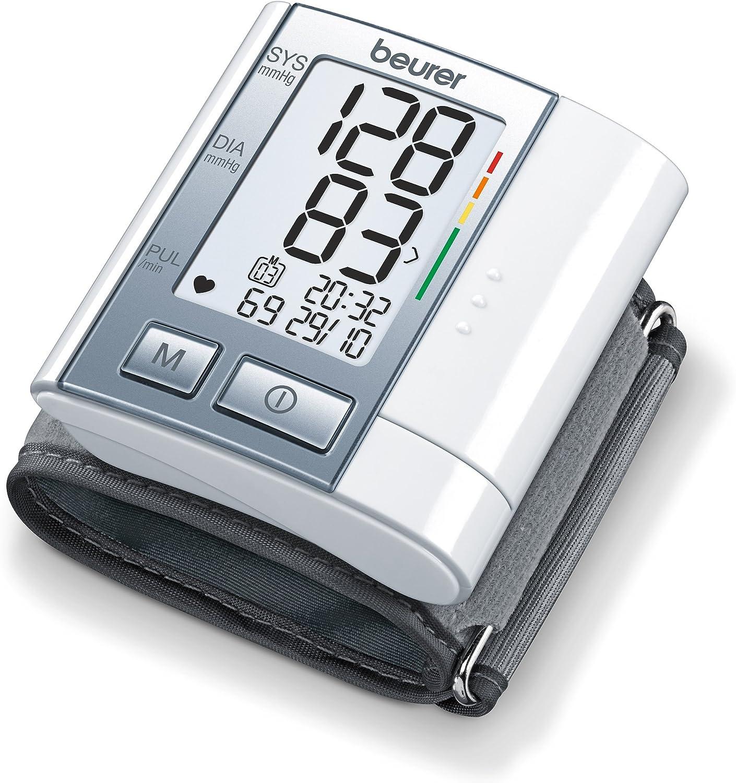 Beurer BC40 - Tensiómetro de muñeca, indicador OMS, pantalla LCD ...