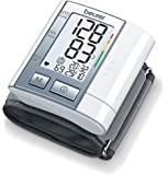 Beurer BC-40 - Tensiómetro de muñeca, indicador OMS, memoria 60 mediciones