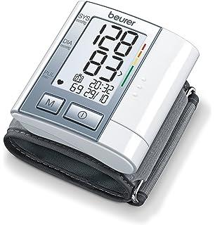 Beurer BC40 - Tensiómetro de muñeca, indicador OMS, pantalla LCD, apagado automático,