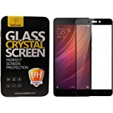 Parallel Universe Tempered Glass Screen Protector 3D Curved Edge to Edge For Xiaomi Redmi 4 - Black