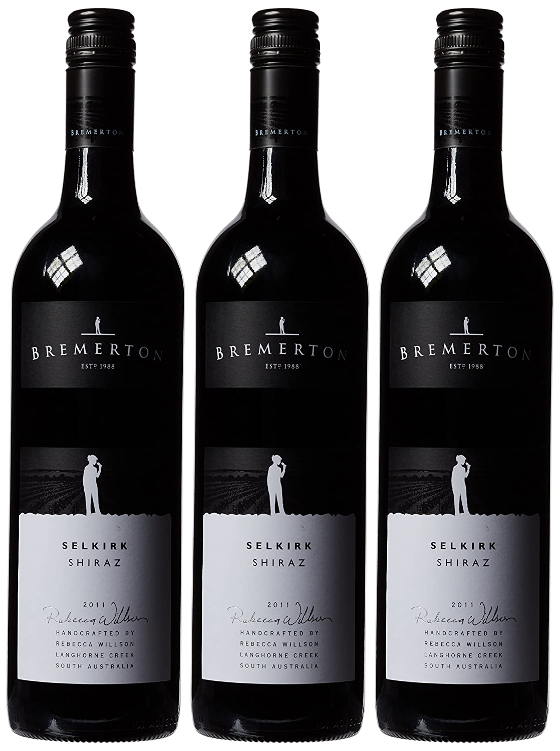 Bremerton Selkirk Shiraz 2015 Wine 75cl (Case of 3)