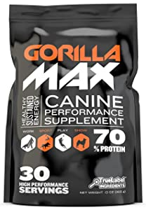 HDP Gorilla MAX Protein Muscle Supplement for Dogs