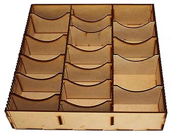 FSSS Ltd - Caja de almacenamiento de MDF con separadores ...