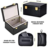 Faraday Box - Car Key Signal Blocker Box & Spare