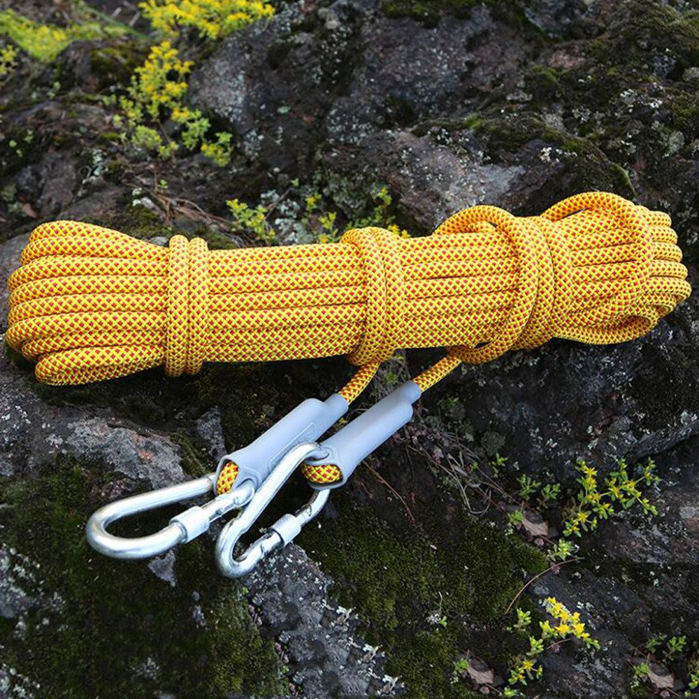 Rock climbing ropes Kletternde Seile Im Freien Freien Freien Flucht Lebensrettende Rettung Abseilseil Gebundene Zeltwäsche,Orange-20m12mm B07DRFZSPW Reepschnüre Hervorragender Stil 678445